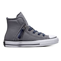 Boys' Converse Chuck Taylor All Star Pull-Zip High Top Shoes