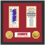 Highland Print Kansas City Chiefs Framed Super Bowl Ticket
