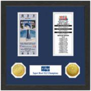 Highland Print Indianapolis Colts Framed Super Bowl Ticket
