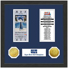 Highland Print Indianapolis Colts Framed Super Bowl Ticket