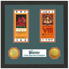 Highland Print Miami Dolphins Framed Super Bowl Ticket