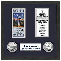 Highland Print Seattle Seahawks Framed Super Bowl Ticket