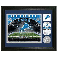 Highland Mint Detroit Lions Stadium Framed Photo