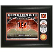 Highland Mint Cincinnati Bengals Stadium Framed Photo
