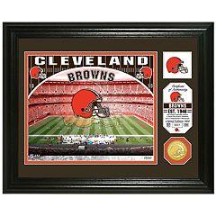 Highland Mint Cleveland Browns Stadium Framed Photo