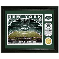 Highland Mint New York Jets Stadium Framed Photo