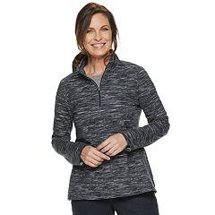 5036b1d8d6 Women's Croft & Barrow® 1/4-Zip French Terry Sweatshirt