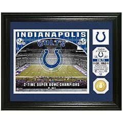 Highland Mint Indianapolis Colts Stadium Framed Photo