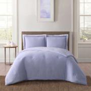 Truly Soft Everyday Solid JerseyComforter Set