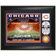 Highland Mint Chicago Bears Stadium Framed Photo