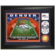 Highland Mint Denver Broncos Stadium Framed Photo