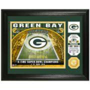 Highland Mint Green Bay Packers Stadium Framed Photo