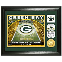 Highland Mint Green Bay Packers Stadium Framed Photo