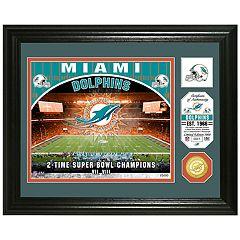 Highland Mint Miami Dolphins Stadium Framed Photo