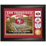 Highland Mint San Francisco 49ers Stadium Framed Photo