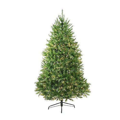 Artificial Christmas Tree 10 Ft: Northlight Seasonal 10-ft. Pre-Lit Indoor / Outdoor