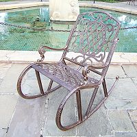 Oakland Living Lattice Rocking Chair - Outdoor