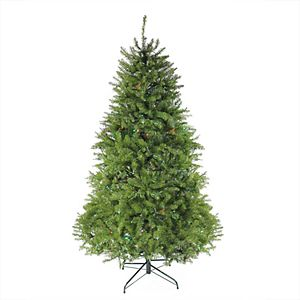National Tree Company 6 Ft Pre Lit Crystal Cashmere Artificial