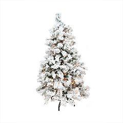 Northlight Seasonal 4.5-ft. Pre-Lit Indoor / Outdoor Pine Artificial Christmas Tree