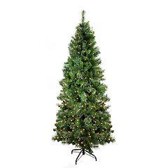 Northlight Seasonal 6.5-ft. Pre-Lit Indoor / Outdoor Mixed Pine Artificial Christmas Tree