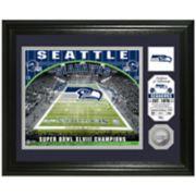 Highland Mint Seattle Seahawks Stadium Framed Photo