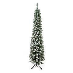 Northlight Seasonal 6-ft. Flocked Traditional Green Pine Artificial Christmas Tree