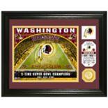 Highland Mint Washington Redskins Stadium Framed Photo