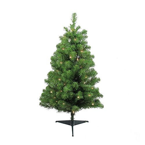 Northlight Seasonal 3-ft. Pre-Lit Traditional Noble Fir Artificial  Christmas Tree - Northlight Seasonal 3-ft. Pre-Lit Traditional Noble Fir Artificial