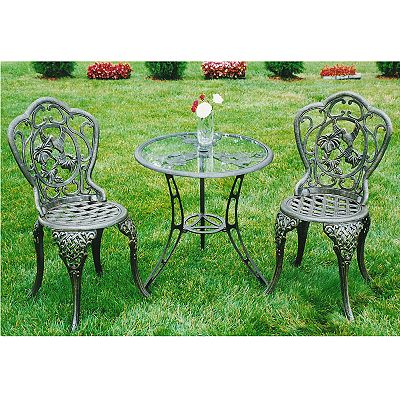 Oakland Living 3-pc. Hummingbird Bistro Set