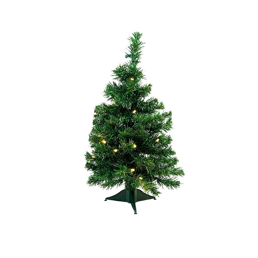 Northlight Seasonal 2-ft. LED Classic Pine Artificial Christmas Tree