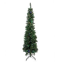 Northlight Seasonal 6-ft. Multicolored LED Northern Balsam Fir Artificial Christmas Tree