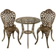 Oakland Living 3-pc. Lattice Bistro Set