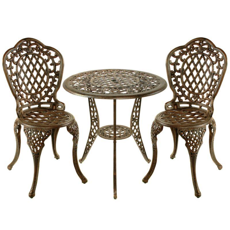 Bronze Aluminum Outdoor Furniture