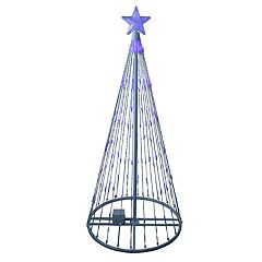 Northlight Seasonal 4-ft. Blue LED Light Show Christmas Tree Indoor / Outdoor Decoration