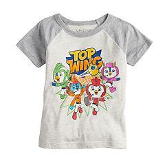 Toddler Boy Jumping Beans® Top Wing Raglan Graphic Tee