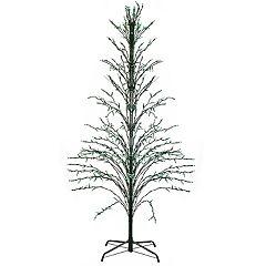 Northlight Seasonal 6-ft. Green Pre-Lit Christmas Cascade Twig Tree Indoor / Outdoor Decoration