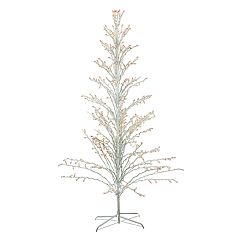 Northlight Seasonal 6-ft. Pre-Lit Christmas Cascade Twig Tree Indoor / Outdoor Decoration