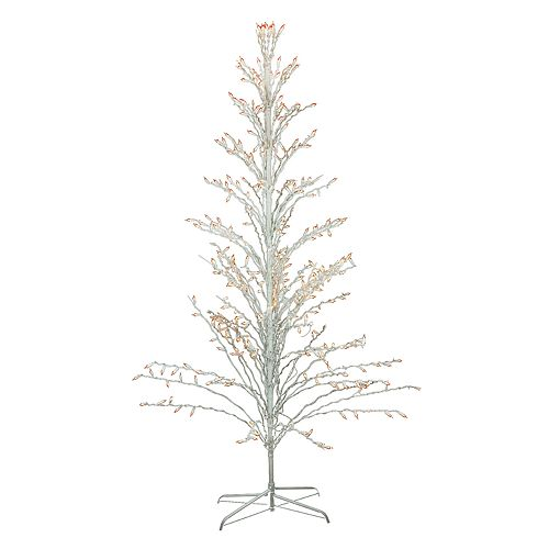 Pre Lit Christmas Twig Tree: Northlight Seasonal 6-ft. Pre-Lit Christmas Cascade Twig