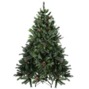 Northlight Seasonal 6.5-ft. Snowy Delta Pine Artificial Christmas Tree