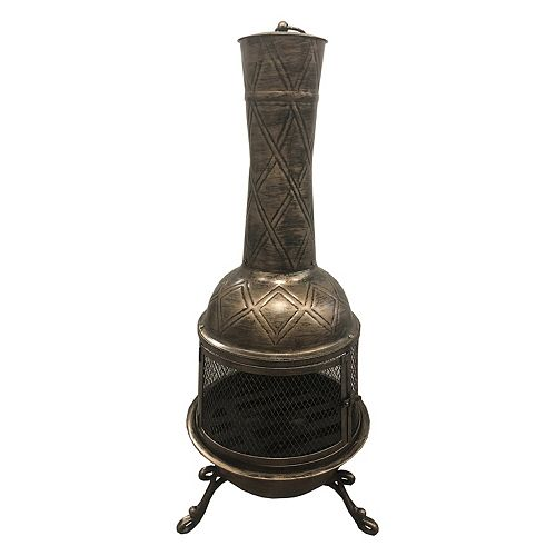 Oakland Living Elite Chimenea - Outdoor