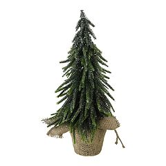 Northlight Seasonal Indoor / Outdoor 14-in. Glitter Weeping Pine Artificial Christmas Tree