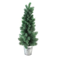 Northlight Seasonal Indoor / Outdoor 25-in. Frosted Pine Artificial Christmas Tree