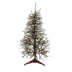 Northlight Seasonal 3-ft. Pre-Lit Warsaw Twig Artificial Christmas Tree