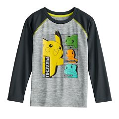 Boys 4-12 Jumping Beans® Pokemon Raglan Graphic Tee