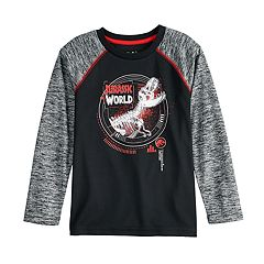 Boys 4-12 Jumping Beans® Jurassic World Space Dyed Raglan Tee
