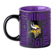 Boelter Minnesota Vikings Matte Black Coffee Mug