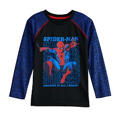 Boys 4-12 Jumping Beans® Marvel Spider-Man Raglan Active Tee