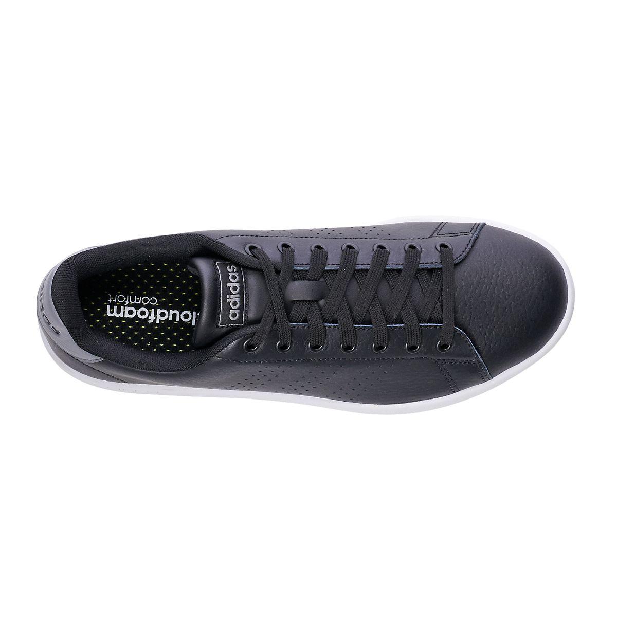 adidas Advantage Men's Sneakers White Green mqETO