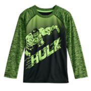 Boys 4-12 Jumping Beans® Marvel The Hulk Raglan Active Tee