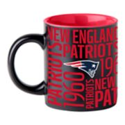 Boelter New England Patriots Matte Black Coffee Mug